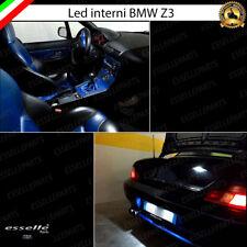 KIT LED INTERNI COMPLETO SPECIFICO BMW Z3 E36 6000K + LED TARGA CANBUS BIANCO