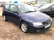 2002/51 Seat Ibiza 1.4 Chill LOW MILEAGE LONG MOT EXCELLENT RUNNER
