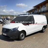 MERCEDES VITO (447) 2014 ON DELUXE WINDSCREEN SCREEN FROST WRAP COVER 306 BLACK