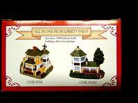 Liberty Falls All in One Gadiel Home & Gadiel Studio Set American 1999 Village