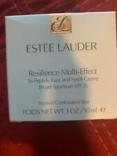 Estee Lauder Resilience Multi-Effect Tri-Peptide Face and Neck Creme EXP 2022