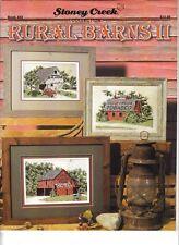Rural Barns II ~  Cross Stitch Leaflet  ~ NEW   ~ Stoney Creek