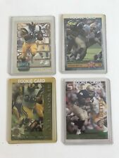 Lot Of 4 Jerome Bettis Rookie Cards - Steelers Rams UpperDeck Rare Vintage NFL