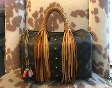 Revamped Louis Vuitton Speedy 30 Fringe Bag