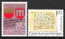 Liechtenstein Nr.928/29 ** Jahrestage 1987, postfrisch