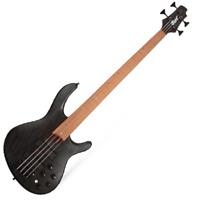 Cort B4 Plus Artisan RM 4-String Electric Bass passive Swamp Ash Black GIgbag