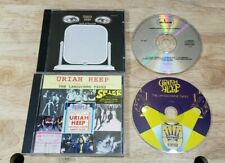 The Lansdowne Tapes by Uriah Heep Cd & Look at Yourself Lot - Tested