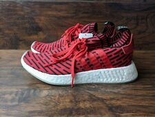 ba7c96037 Brand New Adidas NMD R2 PK Men s Size 9.5 Core Red Black Primeknit Ultra  Boost