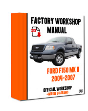>> OFFICIAL WORKSHOP Manual Service Repair Ford F150 2004 - 2007