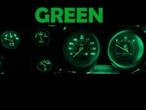 Gauge Cluster LED Dashboard Bulbs Green For Chevy 73-87 C10 C20 C30 Truck