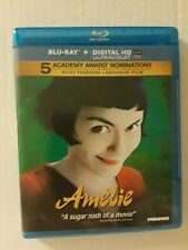 Amelie Blu-ray Disc Audrey Tautou