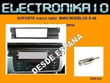Marco Adaptador de Montaje para Radio 1 DIN BMW 3 1998->2006 e46 + iso radio