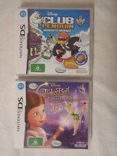 Nintendo DS Disney Club Penguin & Tinker Bell Fairy Rescue al instruction Wi-Fi