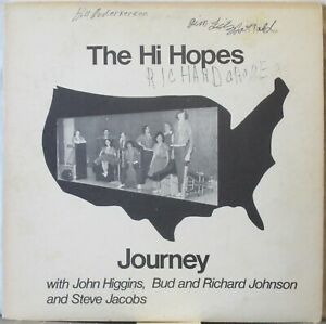 """THE HI HOPES Journey LP Real People w/ Mellotron—Cool cover of """"Fly, Robin, Fly"""""""