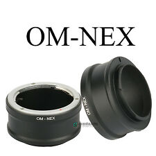 OM-NEX Adapter Ring for Olympus OM Lens to Sony NEX-7 6 5R 5N F5 E-mount Camera