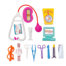 Kids Doctor Medical Medicine Carry Box Role Play Kit Simulation Toy Fun Playsets