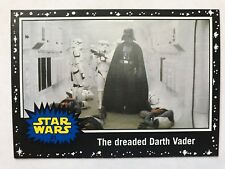 2015 Star Wars: Journey to The Force Awakens #21 The dreaded Darth Vader BLACK
