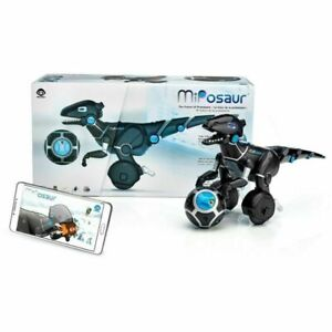 WowWee MiPosaur Robotic Toy with Track Ball - Black brand new