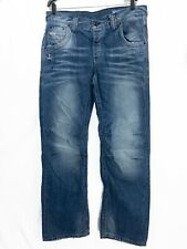 Jack And Jones Mens Jeans 36X34 Boxy Powel JJ579 Noos Blue Jeans