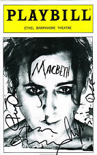 Macbeth Alan Cumming and Cast SIGNED Playbill COA