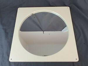 Vintage 1960s Mid-Century Modern Distressed Circular Round Bathroom Mirror 40cm