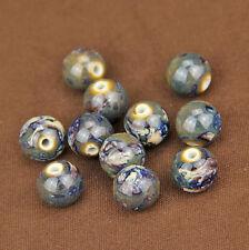 Wholesale 10pcs Round Ceramic Porcelain Loose Spacer Beads 14/16/18mm DIY Making