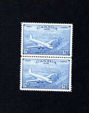 2 CANADA MINT STAMPS-1946 - AIR MAIL/SPECIAL DELIVERY 17c - MINT NEVER HINGED