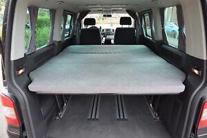 Mattress Topper for VW T5/T6 Caravelle; Multivan; California beach.
