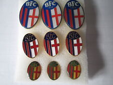 lotto 9 pins lot BOLOGNA FC club spilla football calcio soccer futbol spille