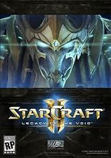 StarCraft II Legacy of the Void (Win/Mac) Online Game Key NEW NEVER Registered