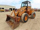 "Case W14 4x4 Articulated Wheel Loader Tractor Cab 86"" Bucket Diesel bidadoo"
