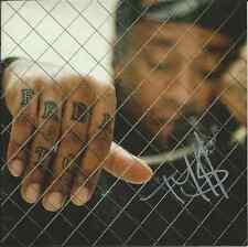 TY DOLLA SIGN $ Signed Autographed FREE TC CD Cover (WIZ KHALIFA) w/COA PROOF