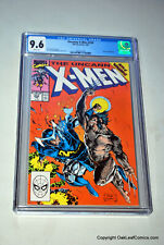 Uncanny X-Men 258 Marvel Comics CGC 9.6 White Pages Claremont Jim Lee