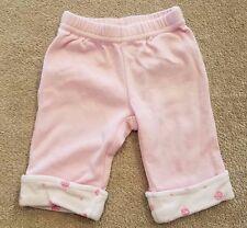GYMBOREE 0-3 MONTH PINK LADYBUG LEGGINGS/PANTS ADORABLE