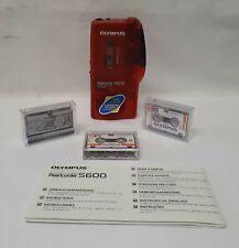 Olympus S-600  Microcassette-Corder  +Kassetten