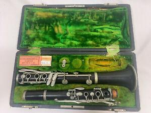 Vintage CG Conn Elkhart Clarinet 1923 B108643L