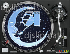"Par (2) Studio 54 Hombre & Cuchara 12"" o 7"" Discoteca Dj Slipmats Kaczor Siano Benítez"