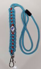 Miami Dolphins Throwback 20-inch Paracord Lanyard w/ Breakaway String Neck Loop