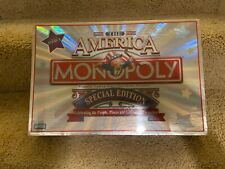 THE AMERICA Special Edition Monopoly Game COMPLETE NEW IN BOX