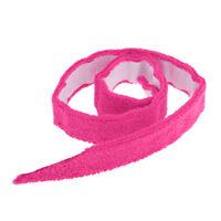 1x Badminton Tennis Racket Squash Overgrip Towel Grip with Adhesive Backing