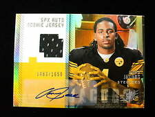 2006 SPX Omar Jacobs rookie jersey autograph Steelers  auto   1463/1650