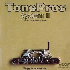 TonePros NVR2-N CHEVALET Vintage fits Nashville ABR-narrow Tune-O-Matic Bridge N