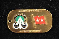 US Army Military Traffic Management Command MTMC 2 Star Generals Coin