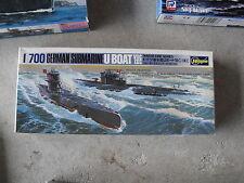 Hasegawa German Submarine U Boat VIIC IXC Ship Model Kit 1/700 NIB