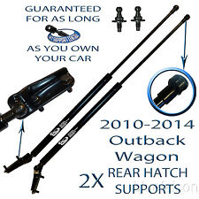 2 Two Rear Hatch Liftgate Lift Supports Strut For 2010-2014 Subaru Outback Wagon