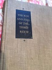 THE RISE AND FALL OF THE THIRD REICH William L. Shirer 1st/3rd 1960 HC