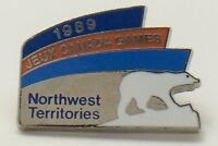 1989 Jeux Canada Games Northwest Territories Olympic Pin F909
