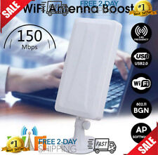 Long Range WiFi Booster Wireless Wi-Fi Repeater Router WLAN Antenna Extender