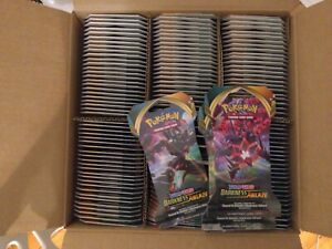 144x Sleeved Booster Pack DARKNESS ABLAZE- Pokemon TGC- SEALED- NEW