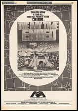 THE DAY TIME ENDED__Original 1979 Trade Print AD / poster_promo__CHARLES BAND